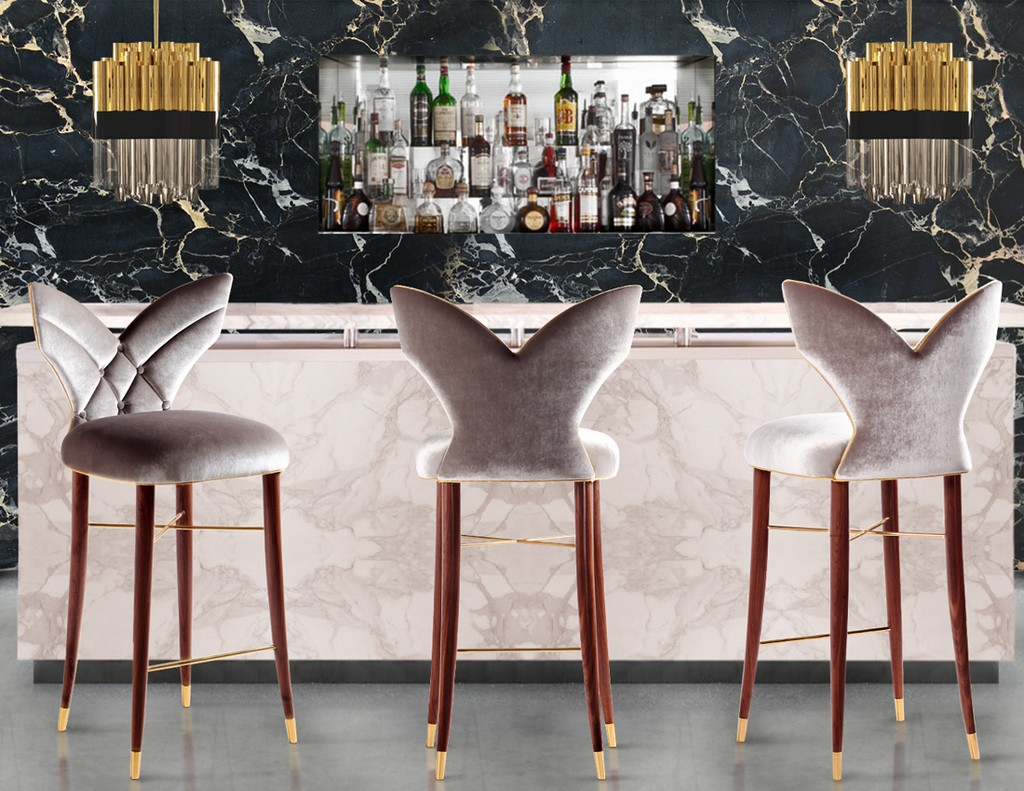 10 Designer Bar Stools Trending Right Now