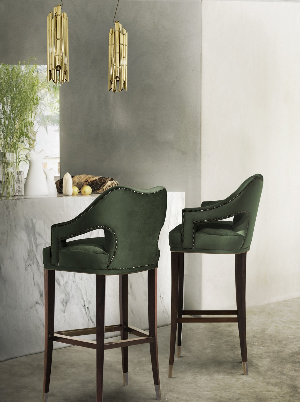 Top 8 Green Bar Stools You Will Covet