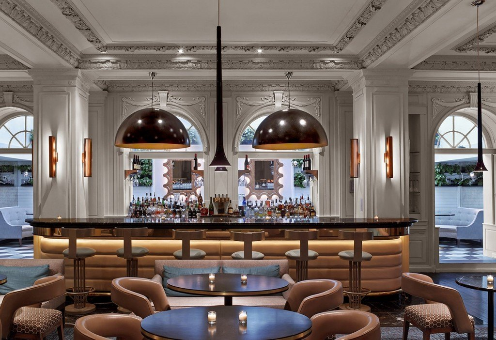 Harlow bar interior design ideas