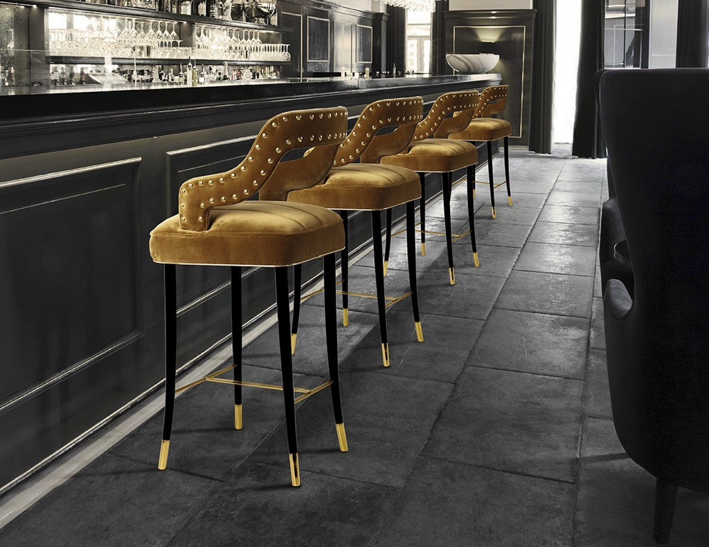 Fresh 10 inspiring upholstered bar stools you want for 2018 | Counter  IO62