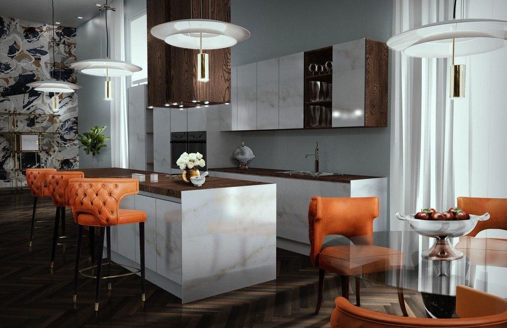 kitchen velvet bar stools