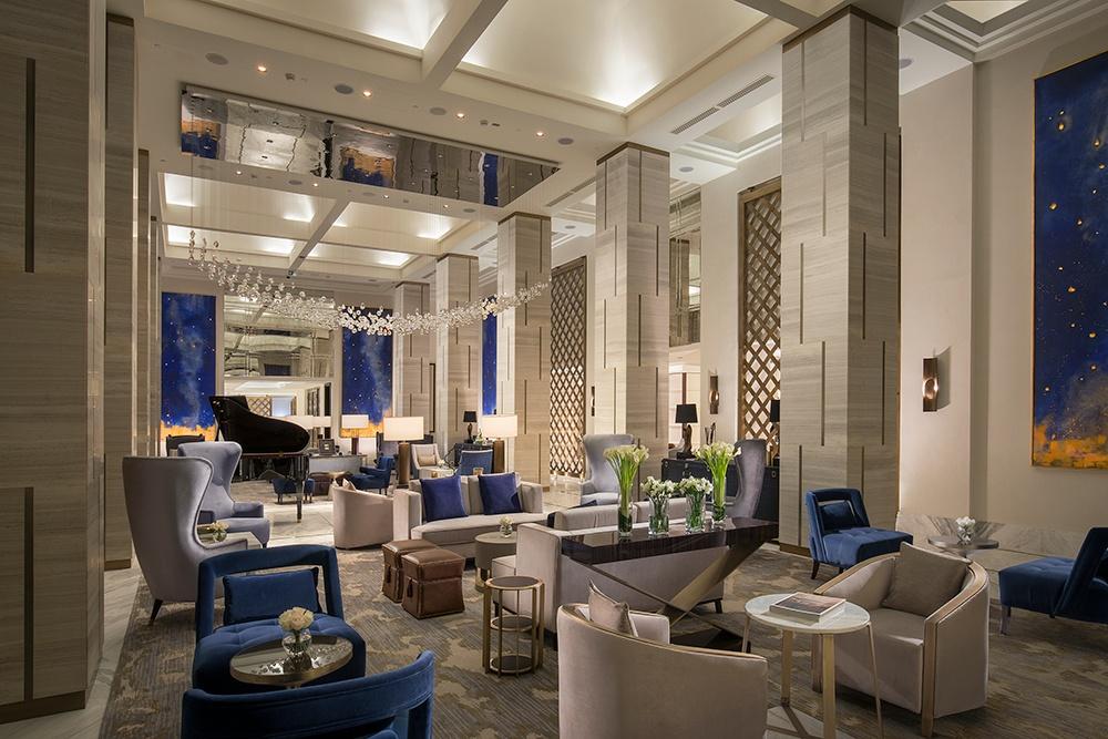 St Regis Astana Luxury hotel designed by Wimberly Interiors